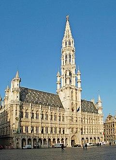 Belgique - Brüssel - Hôtel de Ville - 01.jpg