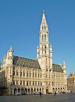 Belgique - Bruxelles - Hôtel de Ville - 01.jpg