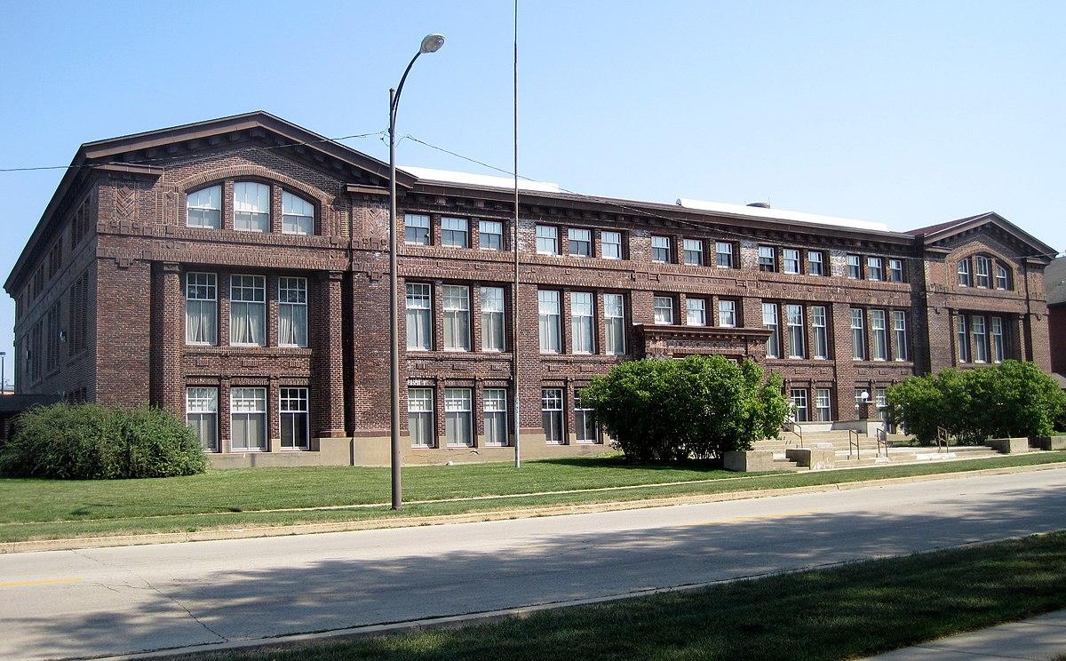 Old Belvidere High School Belvidere Illinois Wikipedia