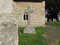 Bench Mark, Keysoe Church - geograph.org.uk - 1805180.jpg