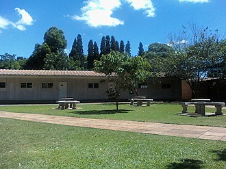Eaglesvale High School - Image: Benches and classrooms