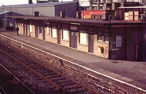 Bentham railway station - Bentham station