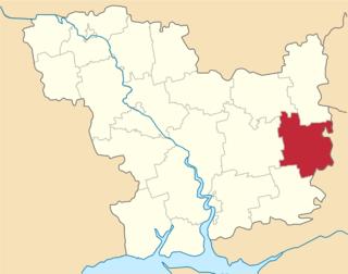 Raion in Mykolaiv Oblast, Ukraine