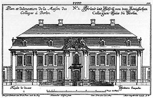 Consistory (Protestantism) - APU's Berlin Consistory sat in the Collegienhaus between 1737 and 1826, sharing it with the Kammergericht, and again from 1913 to 1945 as the sole user.