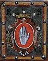 Bern, Münster, Kirchenortschild R Sinner (Detail).JPG