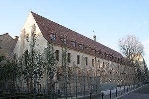 Collège des Bernardins - Bernardins college's facade.