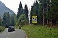 Beware of cyclists road signs, Vršič road in Kranjska Gora 02.jpg