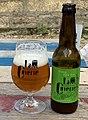 Bière IPA La Cuverie en bouteille (bue à La Cuverie, Irancy).jpg