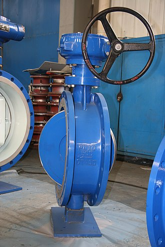 Butterfly valve - Image: Bidirectional tight butterfly valve The Alloy Valve Stockist