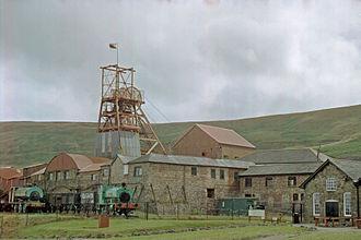 Big Pit National Coal Museum - Image: Big Pit, Blaenavon