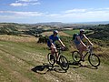 Bike riders, Isle of Wight-geograph-3627883-by-Malcolm-Campbell.jpg