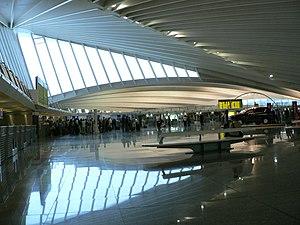 Bilbao Airport interior