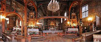 Wooden churches of Southern Lesser Poland - Interior of the St. Michael the Archangel Church in Binarowa