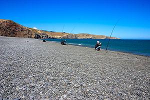 Birdling's Flat - Fishing at Birdling's Flat