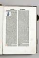 Birgitta, Revelationes celestes, år 1500. Första textsidan. Sko ink 21 - Skoklosters slott - 87006.tif