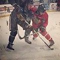 Blackhawks practice at Johnny's Ice House (31905629136).jpg