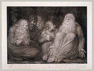 Book of Job - Job's Tormentors' from William Blake's Illustrations for the Book of Job.