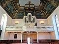Blick in den Innenraum, Orgelempore.JPG