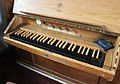 Bliesdalheim Evangelische Kirche Orgel Manual.JPG