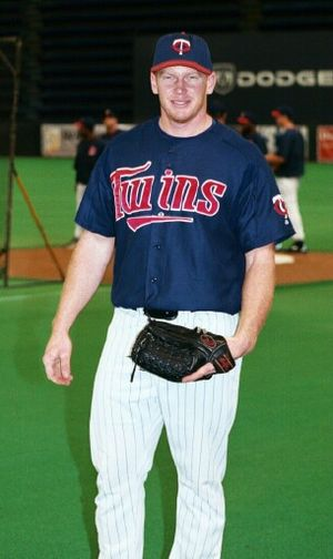 Bobby Kielty - Kielty with the Minnesota Twins in 2002