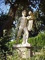 Boboli, inizio del viottolone, tirannicida (copia romana da un originale greco del V secolo ac.).JPG