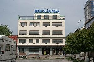 Bohusläningen - The newspaper's main office in downtown Uddevalla