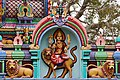 Bokkapuram Mariamman Temple SW Entrance Durga Mar21 A7C 00574.jpg