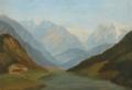 Bolette Puggaard - Etschdalen set fra Varenna - 1835.png