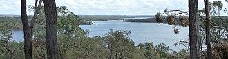 Boondooma Dam - Image: Boondooma Lake