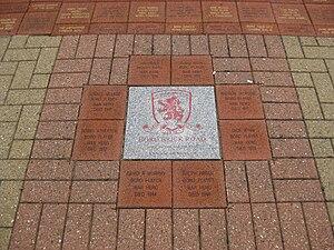 Riverside Stadium - War heroes in the Borobrick Road