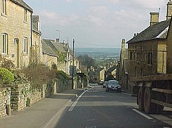 Bourton-on-the-Hill, the A44 facing east. - geograph.org.uk - 374457.jpg