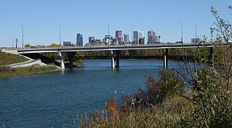 Crowchild Trail - Image: Bow River Calgary 2