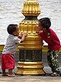 Boys Playing on Riverfront - Kampot - Cambodia (48501908562).jpg