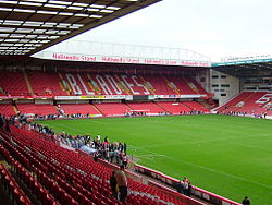 Bramall lane end