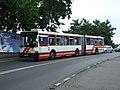 Bratislava, Staré mesto, Šafárikovo námestie, Autobus Ikarus 435.jpg