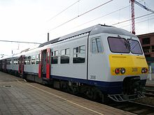 Photograph showing type of train involved in the accident.