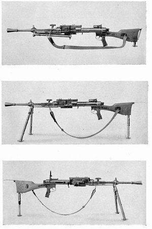 Breda Mod. 5C - Light machine gun Breda Mod.5G