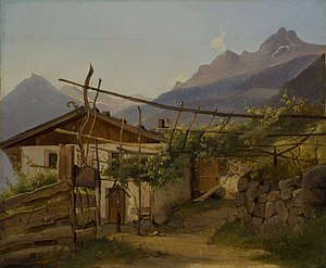 Thorald Brendstrup - Mountain Hut with Climbing Vine