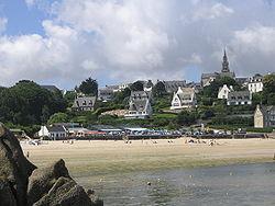 Bretagne - Finistère - Carantec plage du Kélenn 002.JPG
