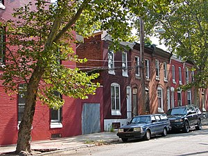 North Philadelphia - Brewerytown Historic District in North Philadelphia.
