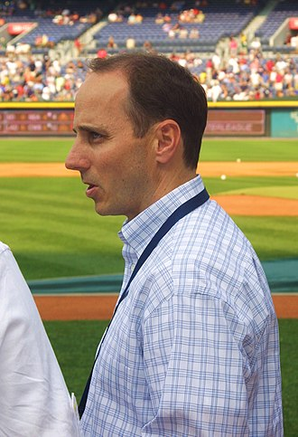 Brian Cashman - Image: Brian Cashman on June 25, 2009