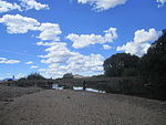 Bridge across Murrumbidgee River, Billilingra Road, Billingra, NSW.JPG