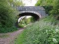 Bridge over the Weavers Way - geograph.org.uk - 1290696.jpg