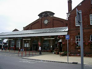 Bridlington railway station - Image: Bridlington railway station 2006 06 25