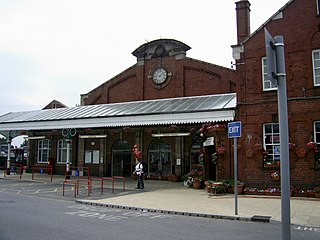 Bridlington railway station Railway station in the East Riding of Yorkshire, England