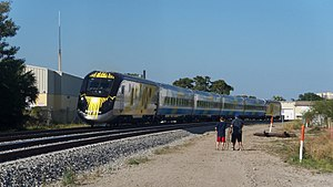 Brightline - Brightline trainset