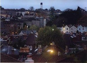 Redland, Bristol - Redland and Kingsdown at dawn