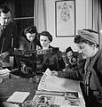 Britons Learn Turkish- Adult Education in London, 1943 D13358.jpg