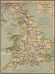 Roman Britain Wikipedia - Map of rome 400 ad