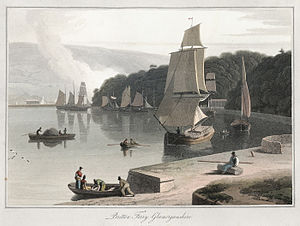 Briton Ferry - Briton Ferry, painted in 1814